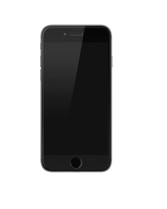 Tempered Glass Screen Protector For iPhone 7 Plus - Black