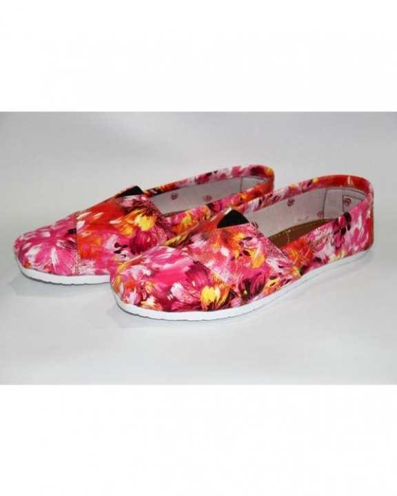 Multicolour - Canvas Sneakers for Women