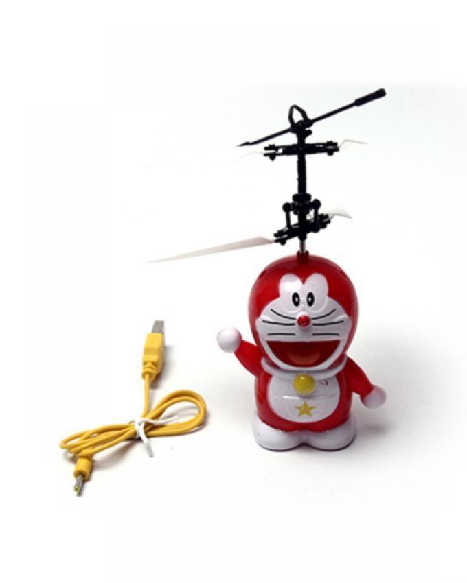 Flying Doraemon - Red & White