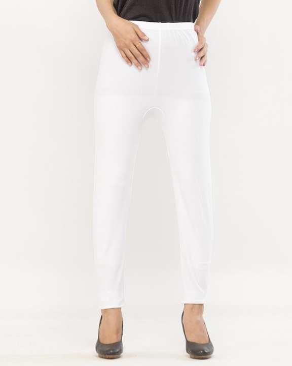 White Plain High Quality Fashion Tights for Girls - BDF-T8085-119
