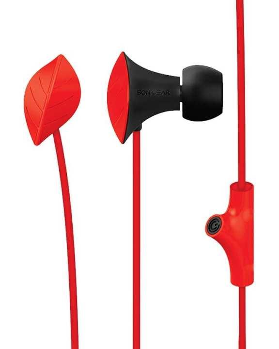 In-Ear Headphones - NeoPlug Leaf - B.Red