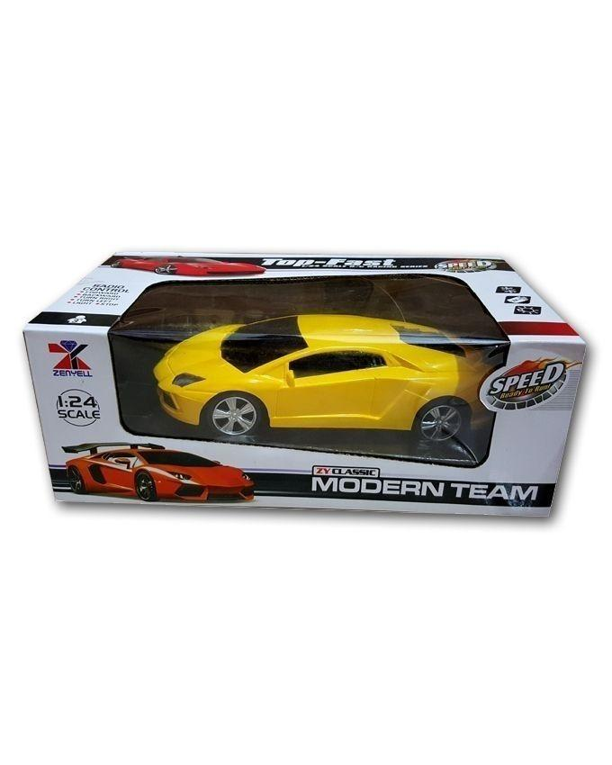 Pack of 2 - Radio Control Car & Wired Control Shovel Truck