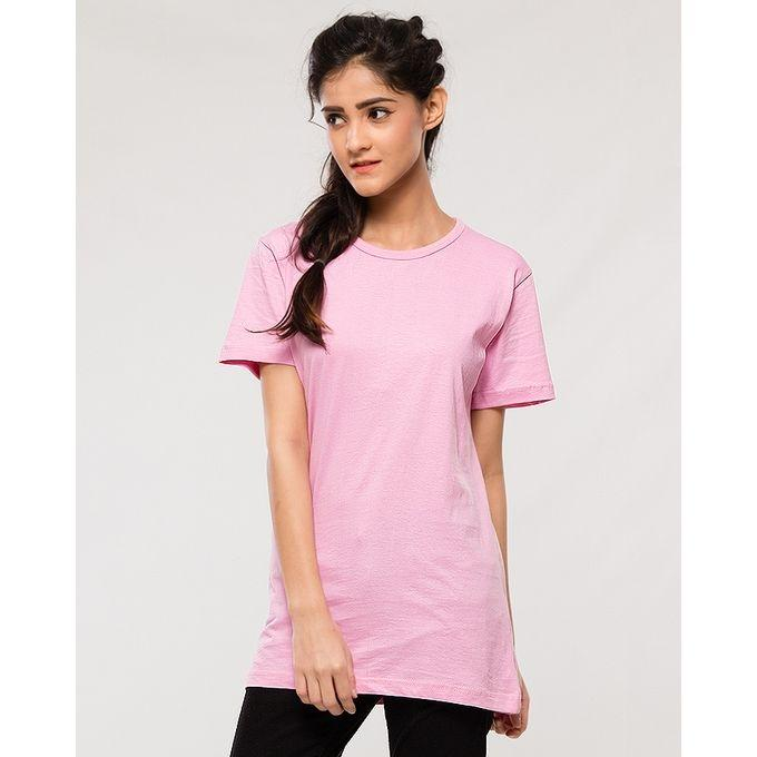 Women's Pack of 5 Short Sleeve Solid T-Shirts. KTY-PK5