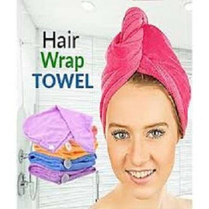 Quick hair drying spa bathing wrap caps-towel turban
