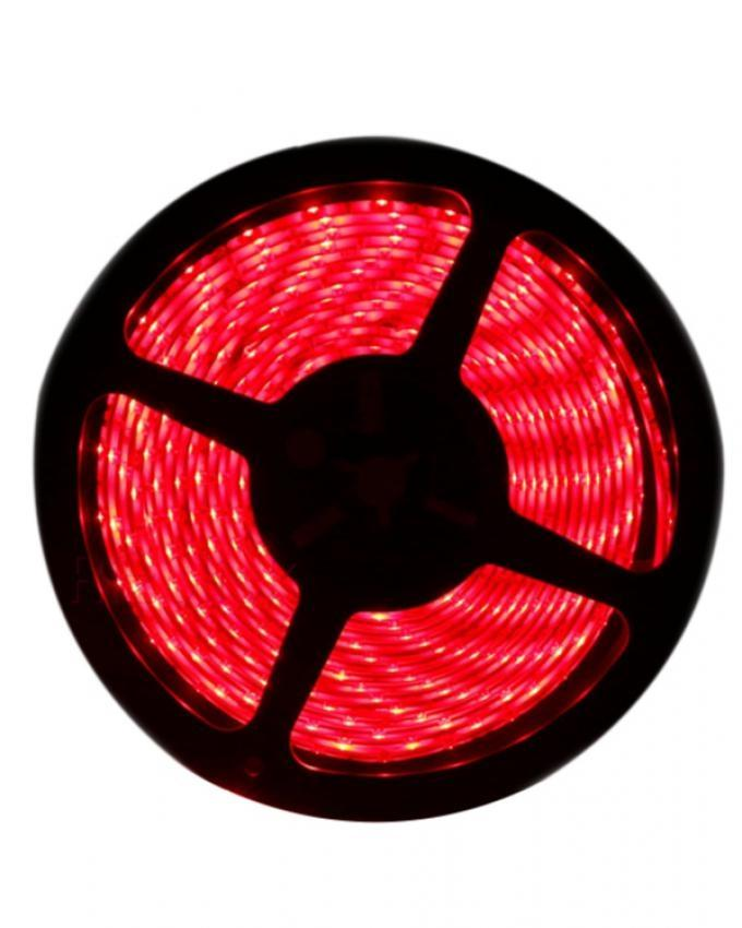 LED Light Strip With 12v Adapter - Red