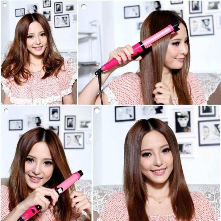 Hayas Collections Hair Straightener & Roller (2 In 1) - Original