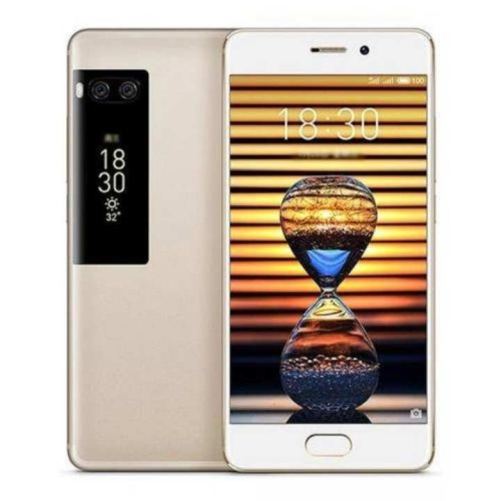 "Pro 7 Plus - 5.7"" + 2"" Dual Display - 6GB RAM - 64GB ROM - 12/12/16 MP Camera - Gold"