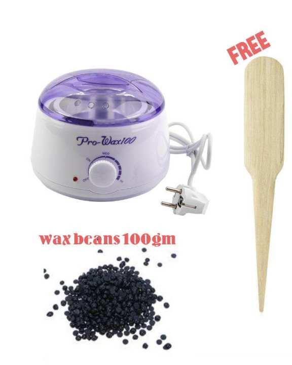 Buy Pro Wax Warmer & Get 100gm Wax Beans + Wax Stick Free