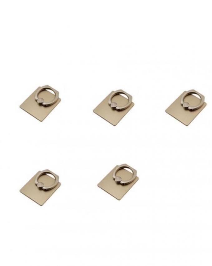 Pack of 5 - Mobile Rings - Golden