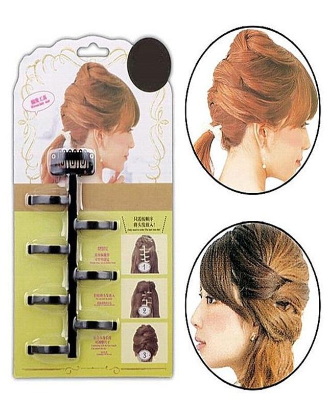 7 Style Maker Hair Braid Twist Tool - Black
