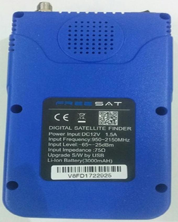 Digital Finder Satellite Finder V-71 HD DVB-S2 MPEG-2/MPEG-4 FTA High  Definition Satellite Meter 3 5inch LCD Display