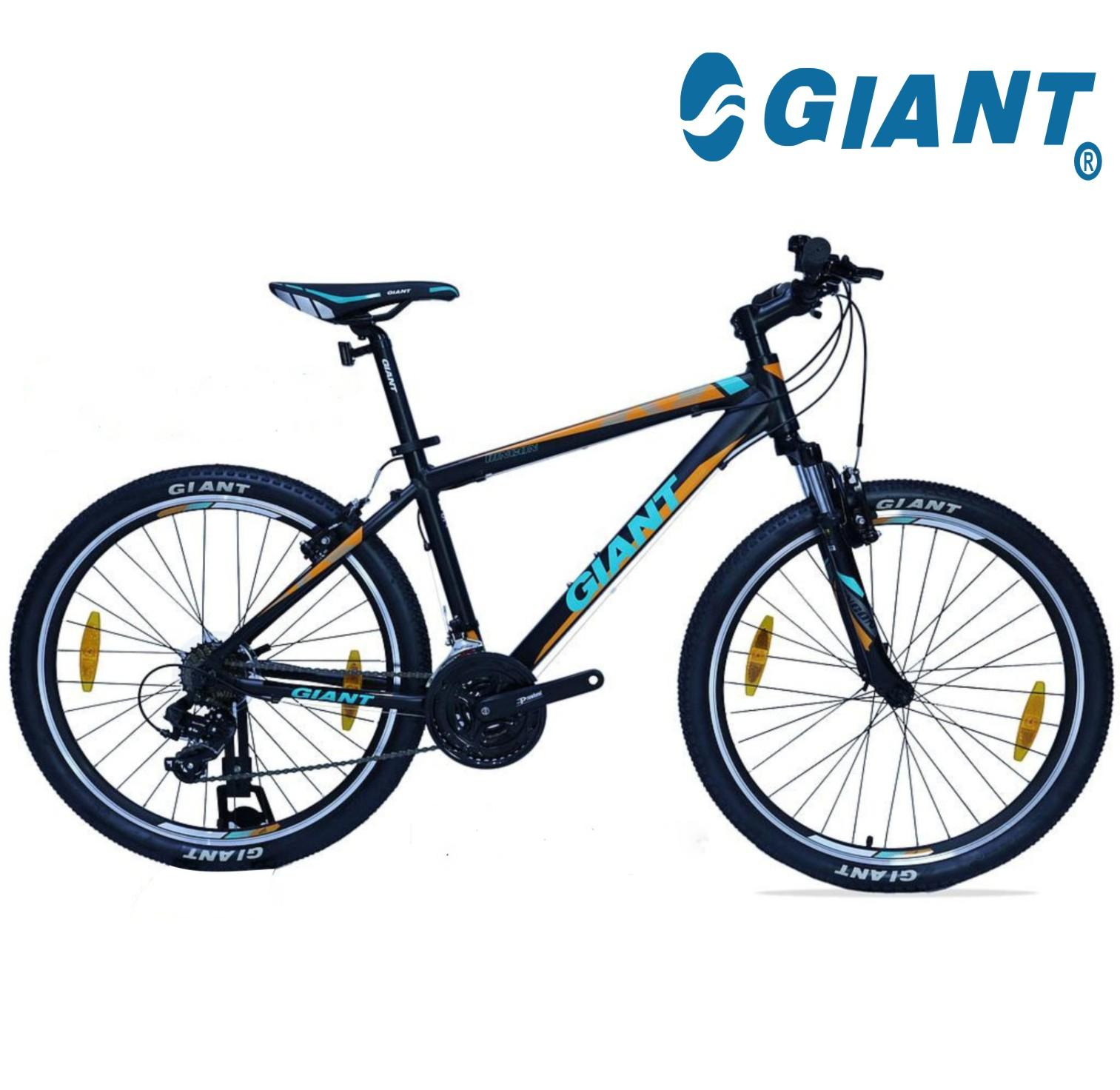 Bicycle - Brand Giant Off Road L-Style/Receat/L/Blk/Grn -  RINCON/Large/Black/Green