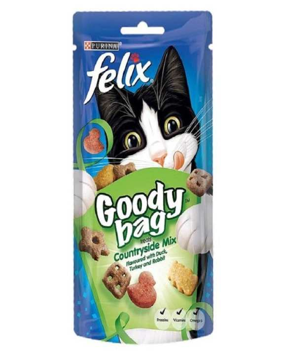Felix Goody Bag Country Side Mix - 60gm