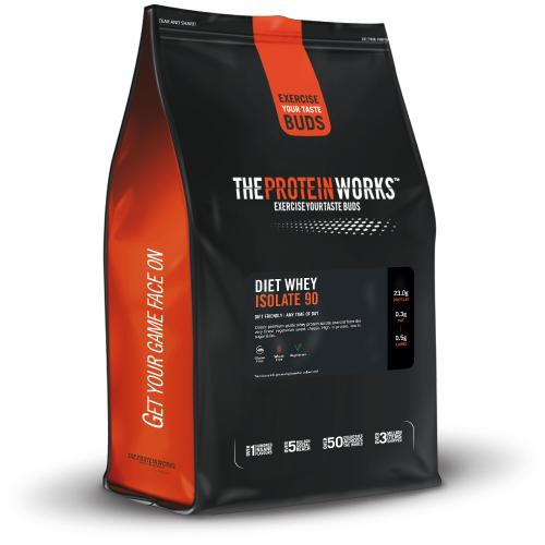 The Protein WorksDiet Whey Protein Isolate 90 - 1 kg (2.2 lbs) - Chocolate Silk