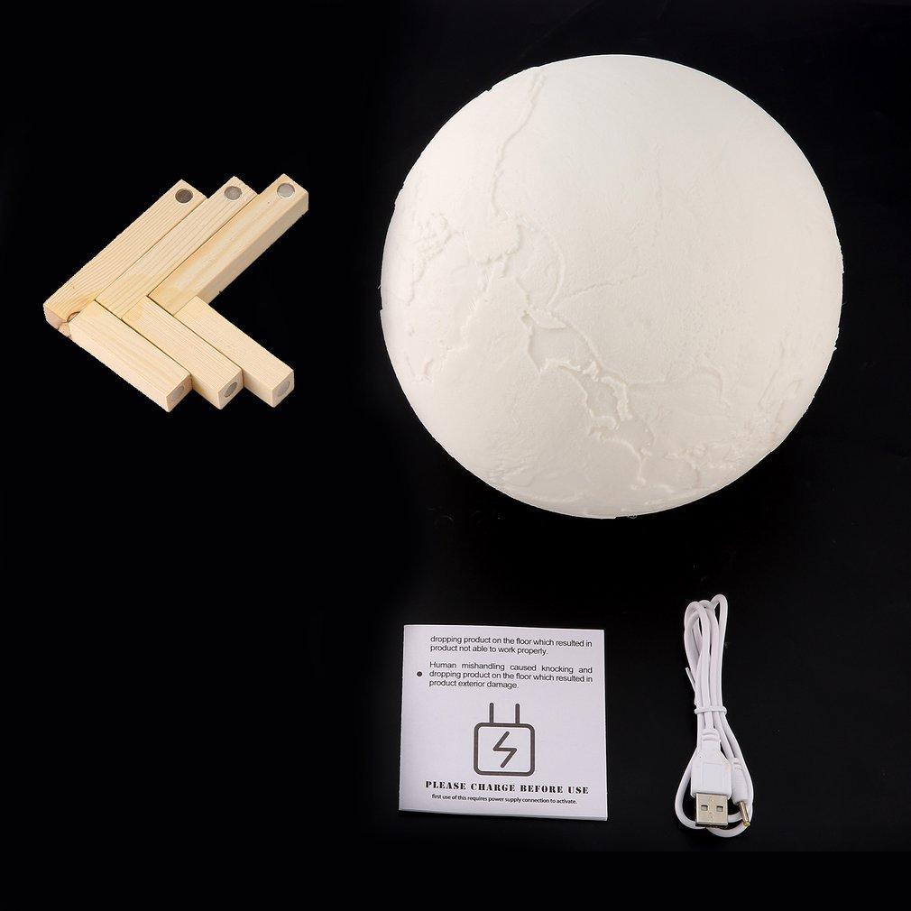 Practical 3d Print Night Moon Led Lamp Lamps, Lighting & Ceiling Fans Night Lights