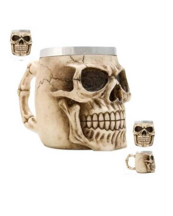 Haunted Mugs For Tea / Coffee - 3D Skull