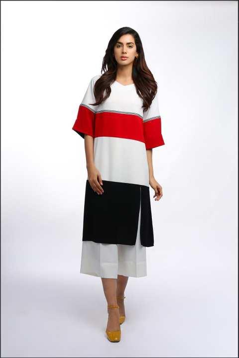 BRANDSTITCH - MultiColor Strappy Boski Shirt For Women