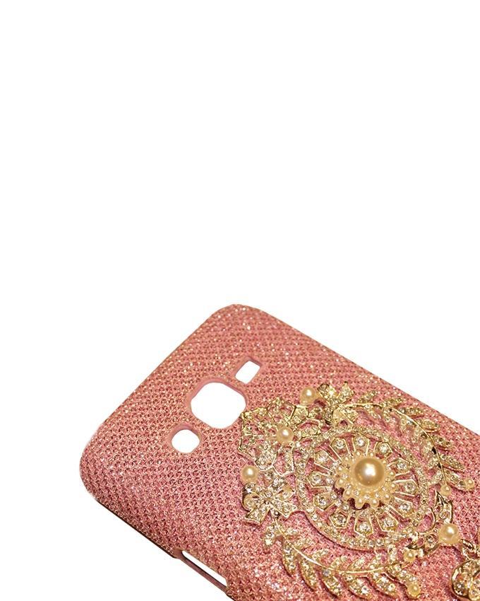 Xocorol Luxury Diamond Case For Samsung J510 - Rose Gold