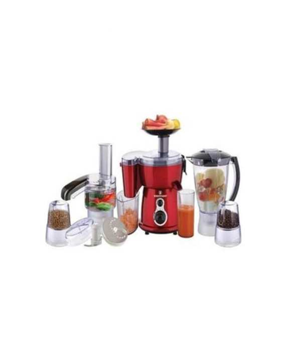 WF-2803 - 5-in-1 Jumbo Food Factory with Extra Grinder - Red