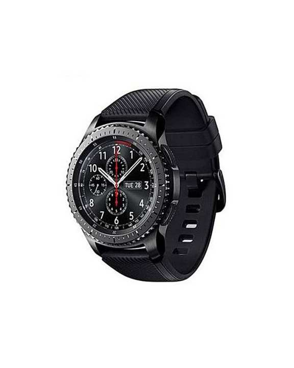 Samsung Samsung Original Gear S3 - Frontier 4Gb Rom Box Packed - Black/Space Grey