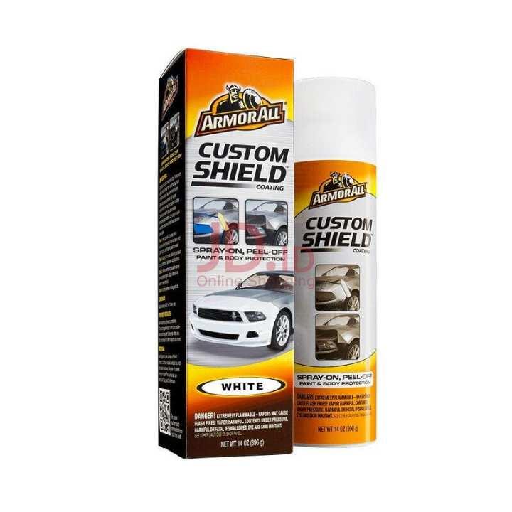 Custom Shield - White