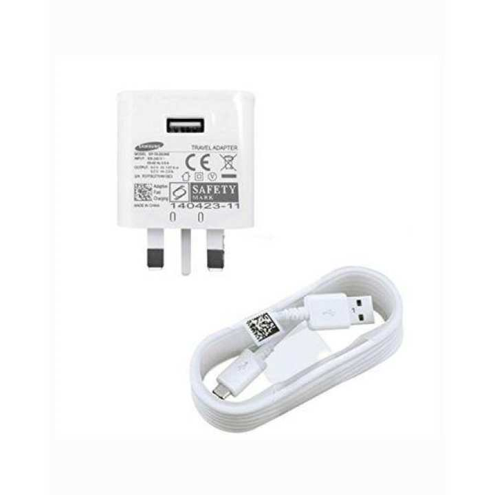 Fast Charger for Samsung Galaxy S6 - Galaxy S6 Edge - Galaxy S6 Edge Plus - White