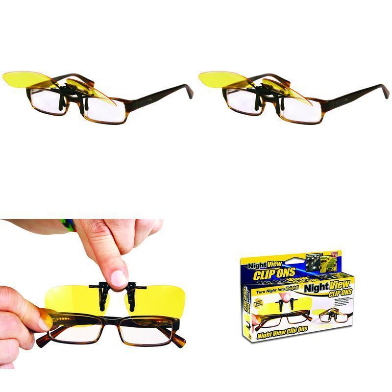 Night View Clip Ons Glasses
