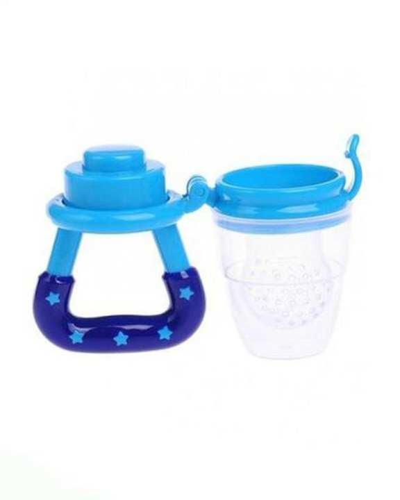 Pacifier Baby Fruit Feeding Nipple - Blue