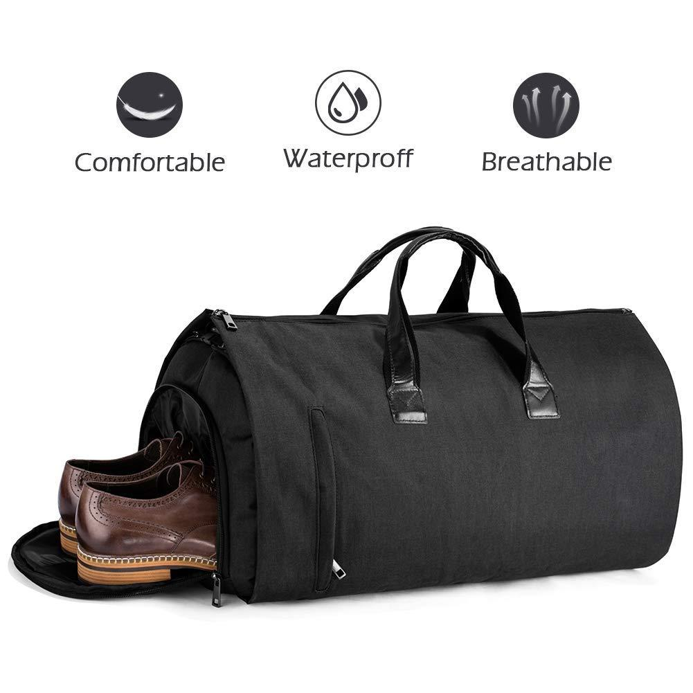 14b8e57706ae Duffle Bag Garment Bag Carry On Weekend Bag Flight Bag for Travel Sports Gym