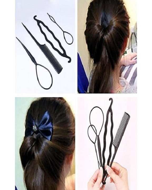 Pack Of 4 - Hair Styling Tool