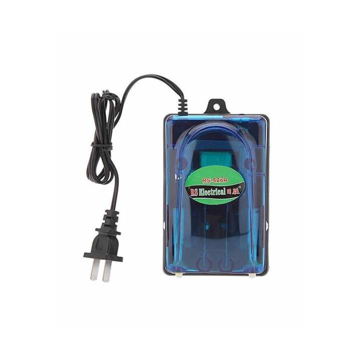 Air Pump For Fish Aquariums - 2 Outlets Double Nozzle