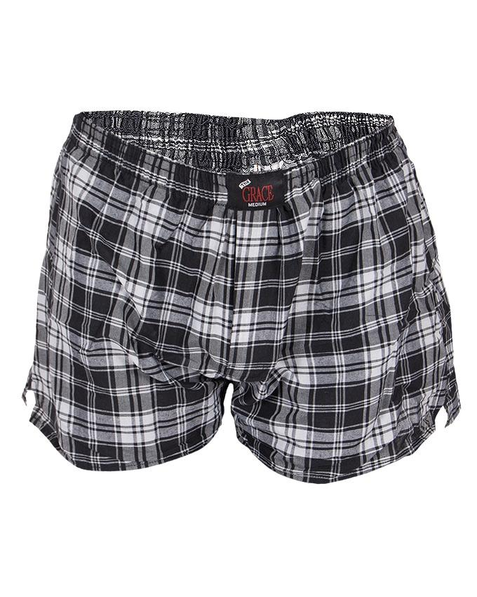 Grey Cotton Boxer Shorts for Men 1d1f89056a