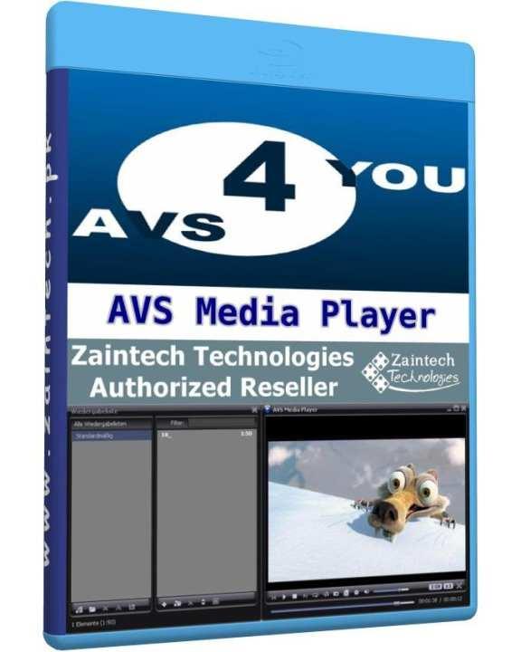 AVS Media Player - 1 PC Lifetime License