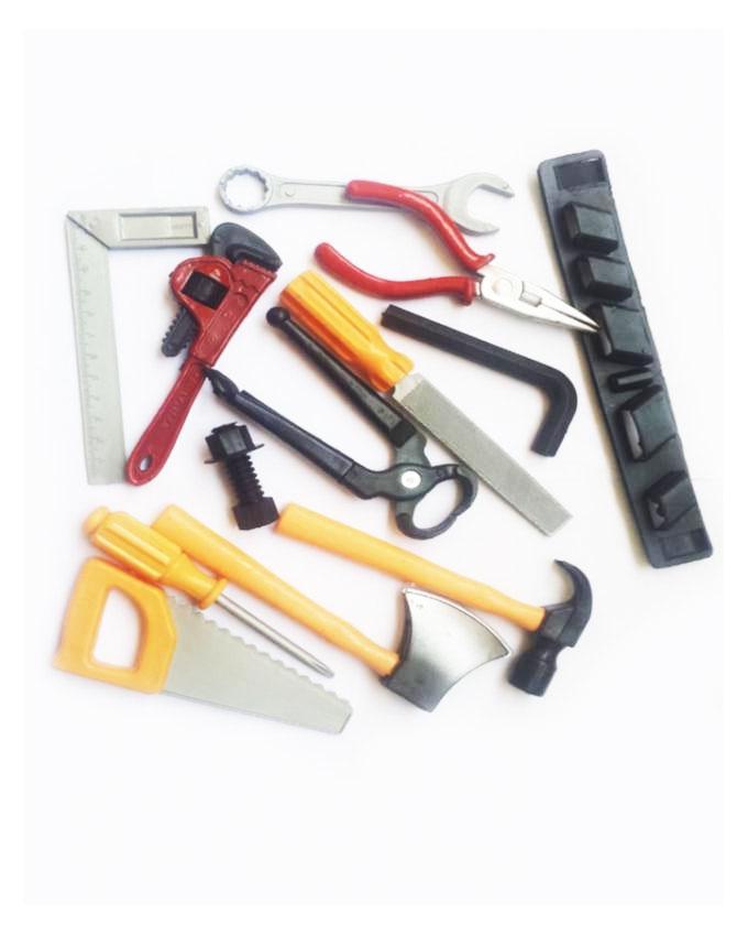 12 Pcs - Tool Set Toy for Kids