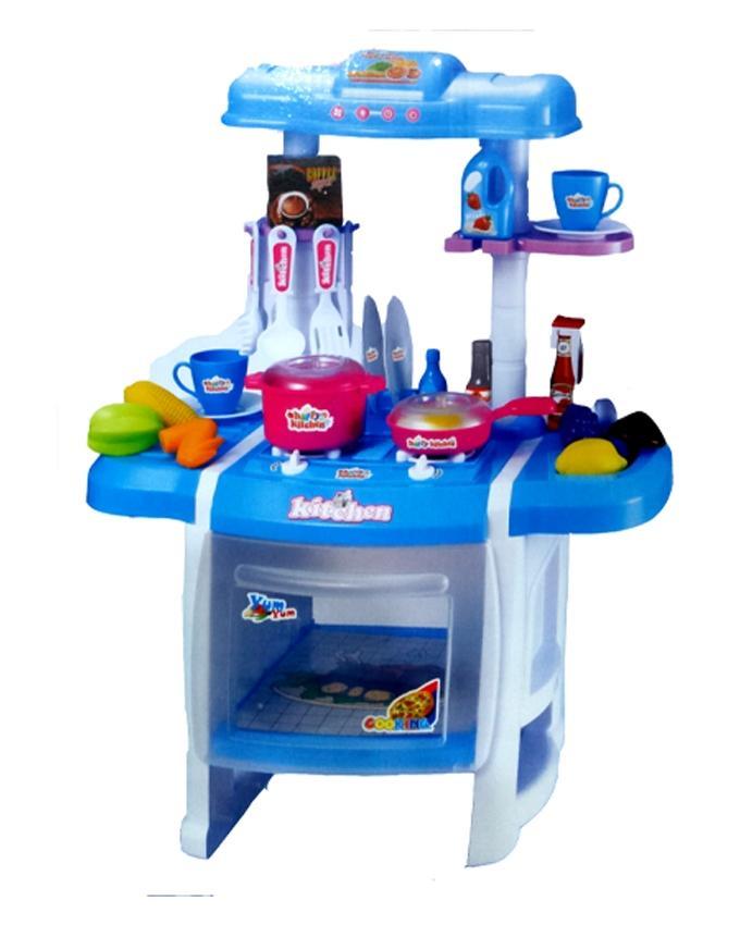 Girls Kitchen Set Rx1800 11 Blue