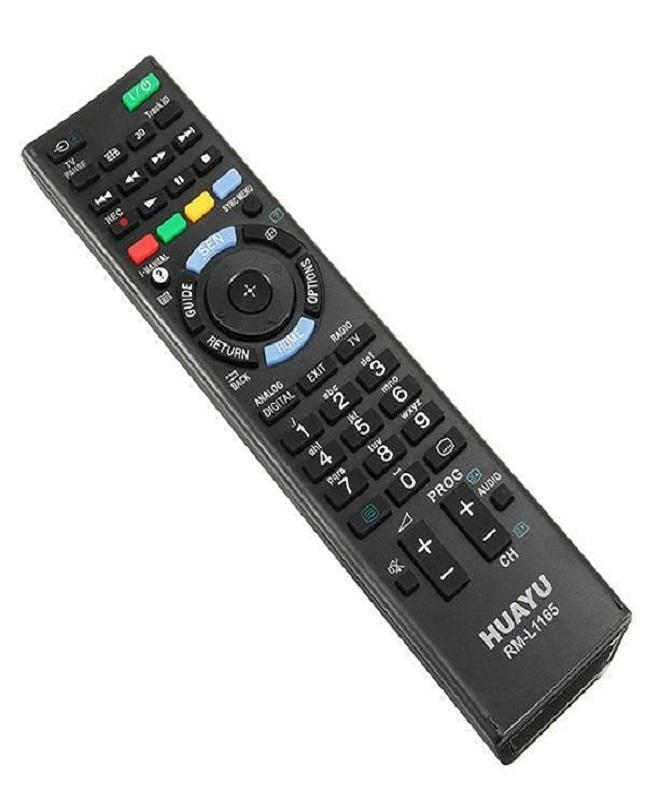 REMOTE CONTROL FOR SONY LED/LCD - RM-L1165 - BLACK