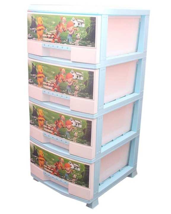 Mega 4 Drawer Storage & Chest Organizer