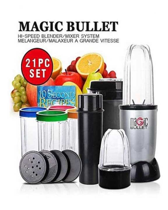 Blender 21 Pieces Set - Black
