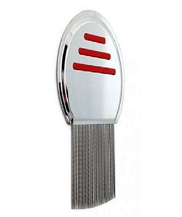Terminator Nit Free Lice Comb - Red & Silver