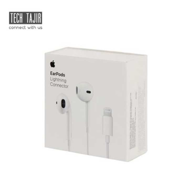 Genuine Apple Earpods With Lightning Connector Handsfree For Iphone 7 / 8 / 10 / X