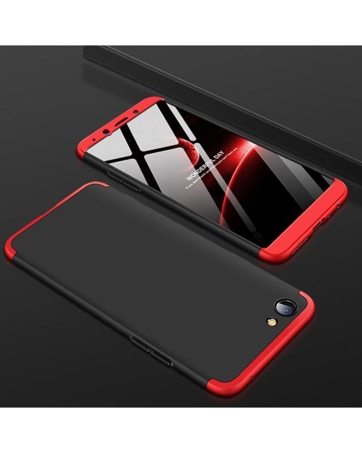 d7615e225e 360 3In1 Cover For Oppo F7 Youth Red Black Combination