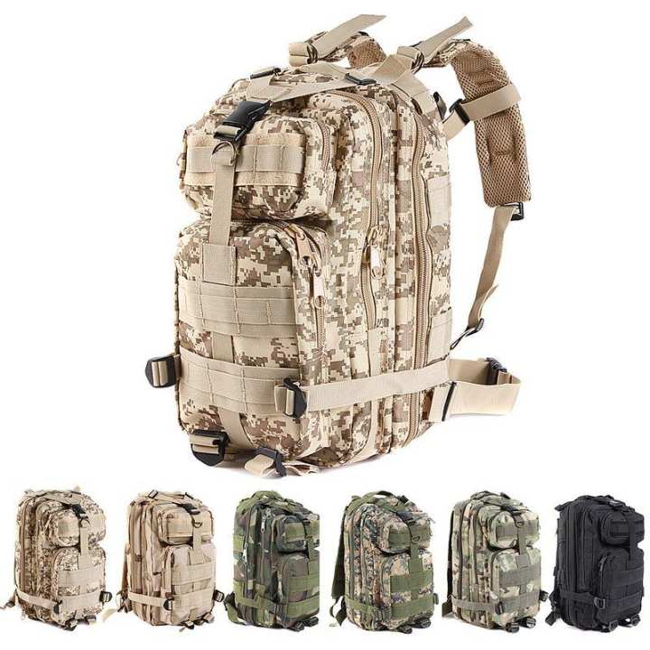 US Army / Military 3P Tactical Attack Backpack Bug Out Bag - camouflage