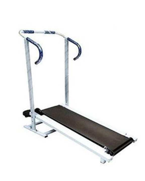 Manual Flat Treadmill With Twister - Multicolor