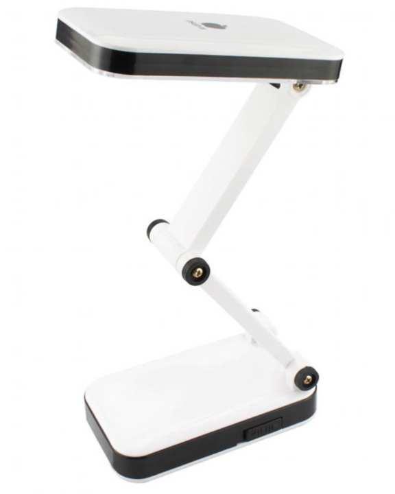 LED Rechargeable Desk Lamp - Black & White
