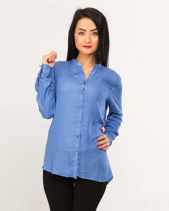 BEECHTREE - Absolute BLUE 1-Pcs Shirt For Women