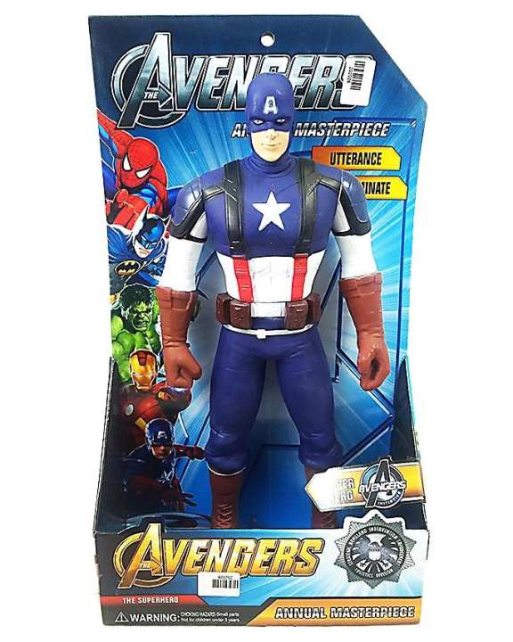 9806 - Captain America - Avengers Collection - Blue