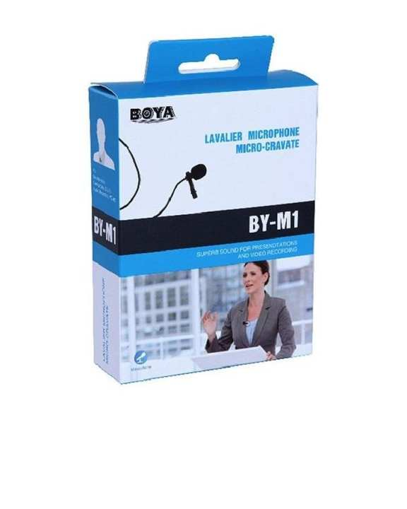 M1 Lavalier Microphone for Canon Nikon DSLR Camcorder & Phone
