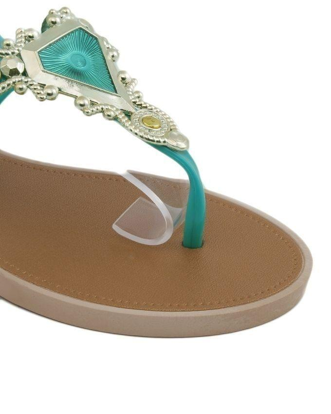 e7d7ac1775c82 Sea Green Imported Italian Design Fancy Sandal for Women - F11  Buy Online  at Best Prices in Pakistan
