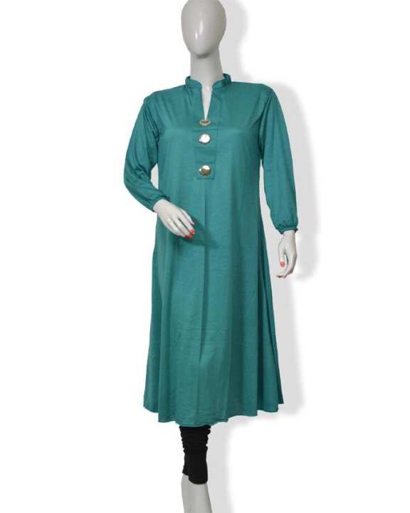 Sea Green Jalpari Top for Women