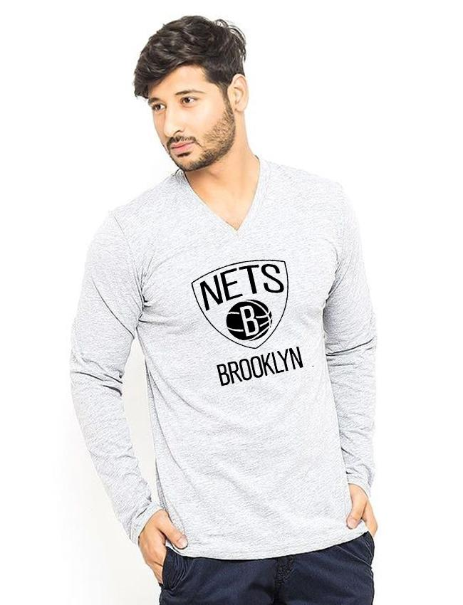 34373408 Heather Grey Brooklyn Printed T shirt For Him: Buy Sell Online @ Best  Prices in Pakistan   Daraz.pk